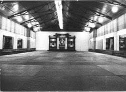 Зал 'Ленкая' перед открытием в 1989 году.